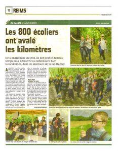 Les 800 écoliers ont avalé les km