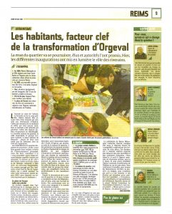Les habitants, facteur clef de la transformation d'Orgeval